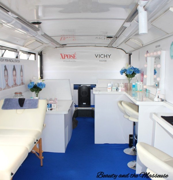 10. Xposé Beauty Bus Event with Vichy Skincare