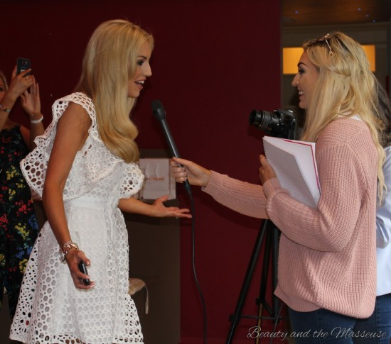 13. Tan Organic's Press Launch with Rosanna Davison