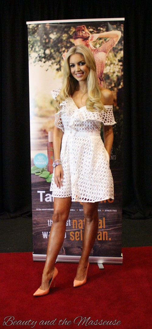 9. Tan Organic's Press Launch with Rosanna Davison