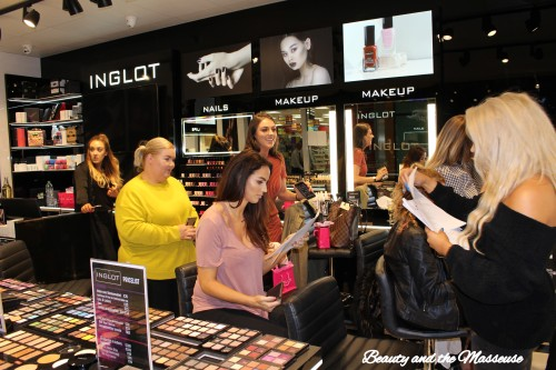 6. Inglot Waterford's VIP Event
